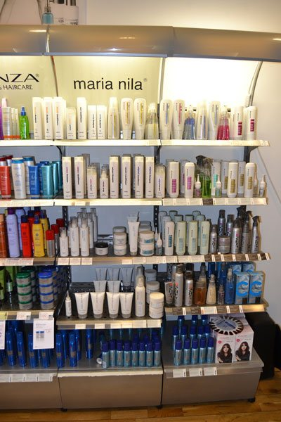 Frisörsalong produkter SAND frisör